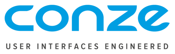 Conze user interfaces engineered